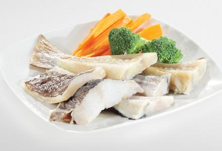 Bits and Tails - Deep-frozen Desalted Codfish