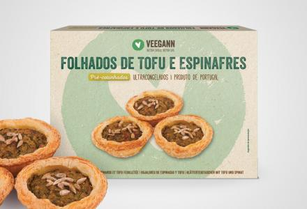 Spinach and tofu puffs - Precooked vegan food