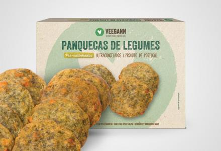 Vegetable Pancakes - Precooked vegan food