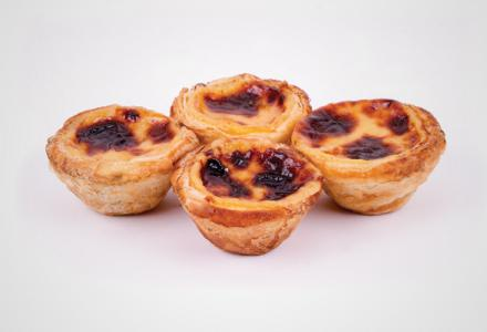 Custard tartlets - Frozen desserts